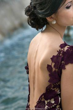 wedding, hairstyle, make up, style, fashion, dress, purple