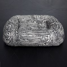 GRACIE SMALL DOG BED Dog Spaces, Dog Beds For Small Dogs, Kelly Wearstler, Marble Print, Sleeping Dogs, Litter Box, How To Make Bed, Pet Accessories, Kids Decor