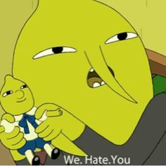 I saw this episode today and cried laughing Adventure Time