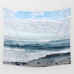 Sky meets Sea  Wall Tapestry