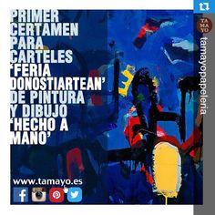 Recordad que tenemos concurso en marcha. #pintura #arte #contemporáneo #donostia #sansebastian #tamayopapeleria Más info en www.tamayo.es