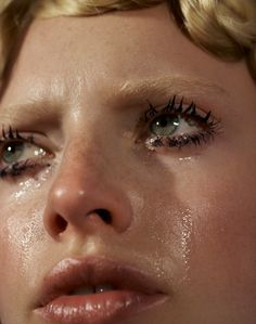 cinematic photographs about women crying in classic film - i-D