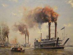 The   ROBERT E. LEE   at New Orleans, LA   Circa; 1860's
