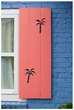 Palm Trees Shutters