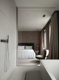 〚 Stylish Belgian minimalism by Vincent Van Duysen 〛 ◾ Photos ◾Ideas◾ Design Vincent Van Duysen, Romantic Bedroom Decor, Minimalist Home Decor, Minimalist House, Minimalist Interior, Minimalist Bedroom, Modern Bedroom Design, Bedroom Designs, Top Interior Designers