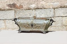 Sublime. French Antique Planter // Cast Iron by LePasseRecompose