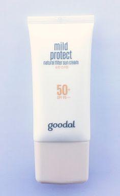 Korean Beauty Dream: [Goodal] Mild protect Natural filter Sun cream SPF50+ PA+++
