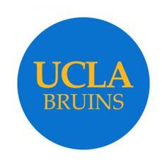 """University of California-LA 1-1/2"""" Round Labels - Free Shipping. Use these semi-gloss circle labels to seal envelopes or as an eye catching touch to demonstration your school pride."""