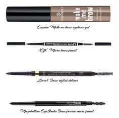 Best drugstore eyebrow products For a full review click on the picture :) #brows #browgel #drugstorebrow
