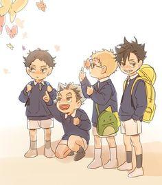 Akashi & Bokuto & Tsukishima & Kuroo | Haikyuu!! #anime #kids