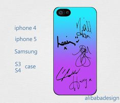 One Direction Signaturesiphone 4 case iphone 4s by AlibabaDesign, $6.88