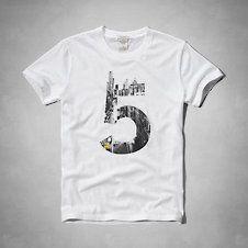 Hombre - Camisetas con estampa | Abercrombie.com