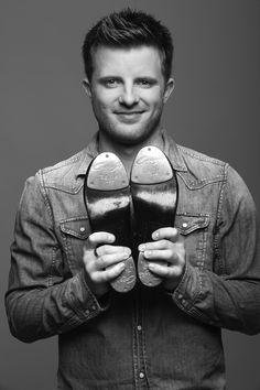 Capezio Athlete Matt Flint and his K360 tap shoes.