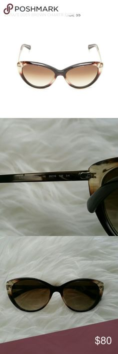 Kate Spade Livia Sunglasses Cateye Kate Spade sunnies in brown. Near pristine condition. Not a single scratch on glasses, cleaning cloth and original case available. kate spade Accessories Sunglasses
