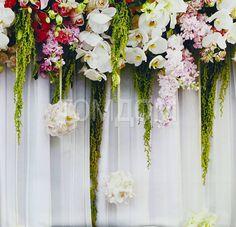 Купить комплект штор «Зифора» розовый, мультиколор, белый по цене 3150 руб. с доставкой по Москве и России - интернет-магазин «ТомДом»