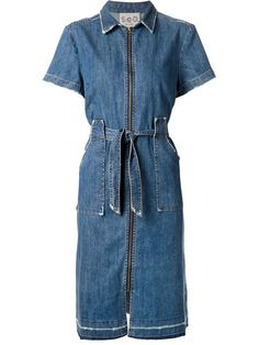Shop Sea zip front denim dress in 20Twelve from the world's best independent boutiques at farfetch.com. Shop 300 boutiques at one address.