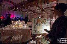 Reception Entertainment Live Painters | Union3 Event Productions