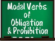 Free ESL EFL teaching activities, worksheets and lessons about modal verbs of obligation and prohibition. Try these productive resources in class today.