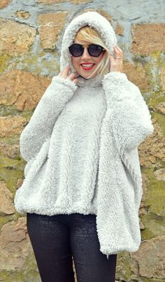 Ivory Faux Fur Hoodie Ivory Hooded Sweatshirt Ivory Fur https://www.etsy.com/listing/494340273/ivory-faux-fur-hoodie-ivory-hooded?utm_campaign=crowdfire&utm_content=crowdfire&utm_medium=social&utm_source=pinterest