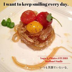 いつも笑顔でいたいな I want to keep smiling every day. . 笑顔は幸せを引き寄せます 今日も笑顔でね\(o)/ Yoga & Pilates STUDIO Madhuri Smile http://ift.tt/28QrvsX . . . . #madhuri #yoga #pilates #studio #a2care  #namasute #nourish #yogalife #梅ヶ丘 #世田谷 #下北沢 #ヨガ #ピラティス #スマイル #ヨガポーズ #ヨーガ #hope #ストレス解消 #呼吸 #瞑想 #笑顔 #習い事 #tomatoes  #daisy #chacra #ストレッチ #美肌 #ttc #ティーチャーズトレーニング #ryt200