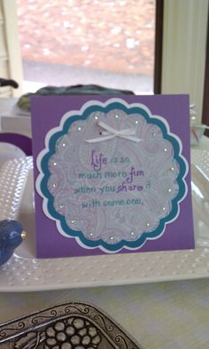 Wedding Shower Card~ Cathy likes this one