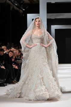 Which of These Over-the-Top Elie Saab Dresses Would You Wear as a Wedding Dress?