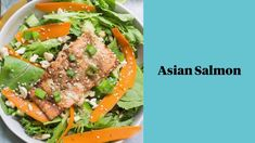 This Asian Salmon recipe is an easy dinner that you can make baked in the oven, on the grill or in foil. Healthy, whole30, paleo and done in under 30 minutes! The marinade is so delicious and the salmon goes great on salad or in power bowls! Healthy Grilling Recipes, Healthy Salmon Recipes, Seafood Recipes, Clean Eating Guide, Clean Eating Recipes, Vegetable Kebabs, Asian Salmon, Salmon And Rice