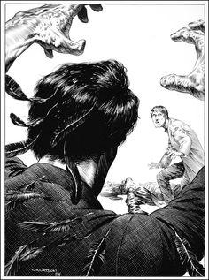 Berni Wrightson Illustrating Stephen King's Masterpiece THE STAND