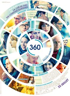 from the upcoming film 360 - I have no idea what the word on the film is, but it's poster for Europe is pretty damn sweet!