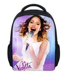 FORUDESIGNS 3D Printed Violetta School Bag Girls New Fashion Small School Bag For Girls Children Schoolbag For Girls Gifts
