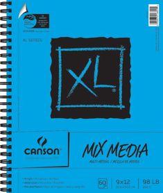 Canson 9-Inch by 12-Inch Extra Long Multi-Media Paper Pad, 60-Sheet Canson http://www.amazon.com/dp/B002NQ2K16/ref=cm_sw_r_pi_dp_sEcXub1J8BS8C