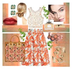 """Orange Crush2"" by mcallenelrivera ❤ liked on Polyvore featuring H&M, Sophie Hulme, Ciner, Marni, ASOS, Christian Dior, Gianvito Rossi and Etro"