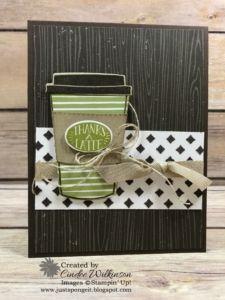 Coffee Cafe Swap Cards – Just Sponge It!