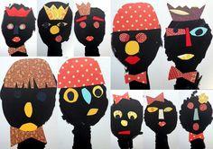 les petites têtes de l'art Kids Workshop, Children, Collages, Ideas, Artists, Visual Arts, Group, Preschool, Fabrics