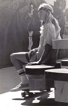 venice beach, 1970's
