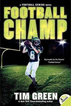 Football Champ (Football Genius) by Tim Green https://www.amazon.com/dp/0061626910/ref=cm_sw_r_pi_dp_8RsGxbNVPNMT2
