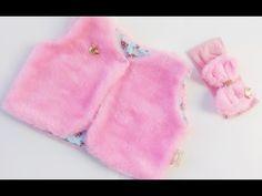 Como fazer um colete infantil com molde de 1 a 6 anos - YouTube