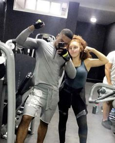 Gym Couple, Fit Couples, Sporty, Fitness, Style, Fashion, Gym, Moda, La Mode
