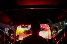 Inside a Three Wheeler in Colombo —Flemming Bo Jensen