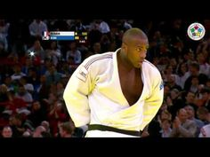 Judo Grand Slam Paris 2013: Final +100kg   RINER, Teddy (FRA) -  KIM, Su...