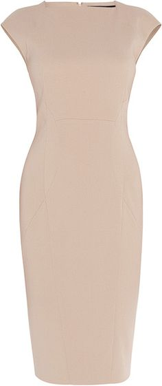 Crepe Dress Ellie Saab. Simply wonderful, Simetrical cuts and superb tailoring.