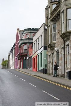 City Street - Lerwick, Shetland Islands