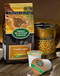 Green Mountain Pumpkin Spice Coffee..what a beautiful sight!