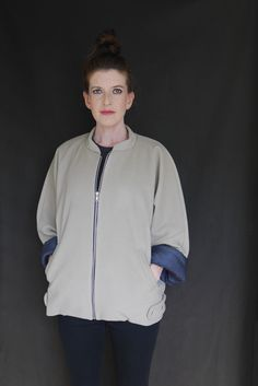 Iconic Bomber sewing pattern from Worthy Design Studio - The Pattern Pages Sewing Magazine Open Ended Zips, Sewing Magazines, Make Your Own Clothes, Stylish Jackets, Leftover Fabric, Man Up, Jacket Pattern, Pdf Sewing Patterns, Slow Fashion