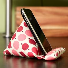 Great stand for my phone. Wonder if I could figure this out.   by dognamedbanjo, via Flickr