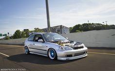 Honda Civic EK - Steven's new setup by Mish Productions, via Flickr