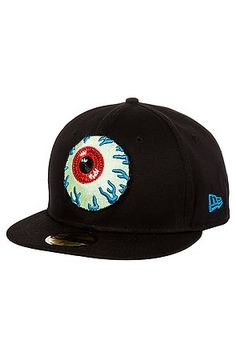 Mishka+The+Keep+Watch+New+Era+Fitted+Hat+in+Black