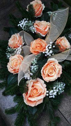Veniec na hrob Ikebana, Floral Wreath, Wreaths, Decor, Floral Crown, Decoration, Door Wreaths, Deco Mesh Wreaths, Decorating