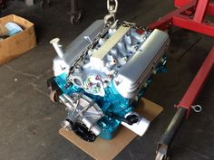 1989 Ford 302 small block.