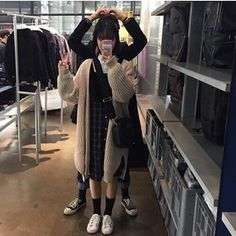 Designer Clothes, Shoes & Bags for Women Korean Couple, Ulzzang Couple, Korean Outfits, Wattpad, Goals, Couples, My Style, Polyvore, Shopping